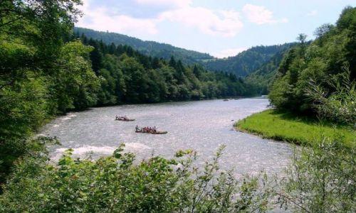 Zdjecie POLSKA / Pieniny / Pieniny / spływ Dunajcem