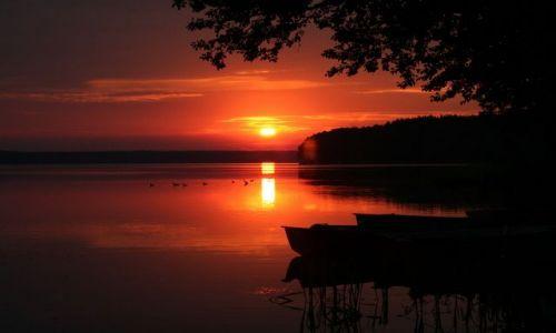 Zdjecie POLSKA / Mazury / Zamordeje / Wschód słońca na Mazurach dla Qmoszki :)