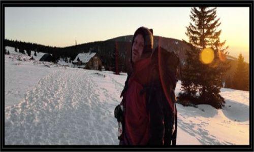 Zdjęcie POLSKA / Dolny slask / przed lub za schroniskiem na chali pod snieznikiem / Przyjemnosc