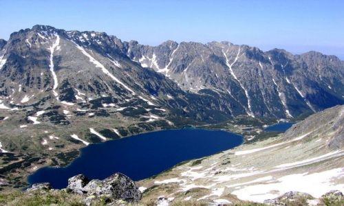 Zdjecie POLSKA / Tatry / Szpiglasowy Wierch / Widok ze Szpiglasowego na Doline Pieciostawianska