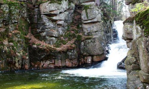 Zdjecie POLSKA / - / jeleniogórskie / wodospad przesi