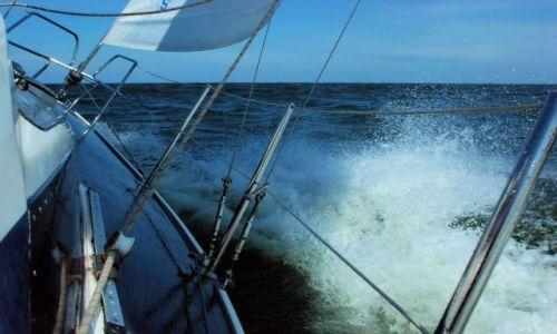 Zdjęcie POLSKA / Bałtyk / Zatoka Gdańska / Wiatr