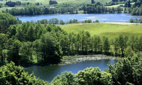 Zdjęcie POLSKA / Suwalski Park Krajobrazowy / widok z Góry Zamkowej / ...