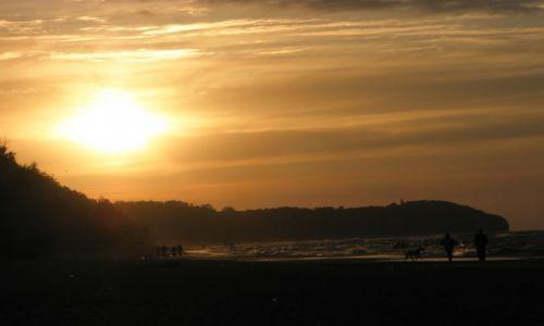 Zdjęcie POLSKA / Pomorze / Rozewie / Zachód słońca