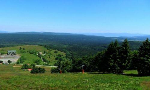 Zdjęcie POLSKA / Dolny Śląsk / Duszniki Zdrój - Zieleniec / Panorama Zieleńca