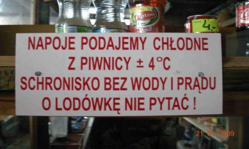 Zdjecie POLSKA / Bieszczady / Chatka Puchatka / Napoje