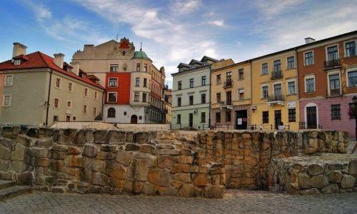 Zdjęcie POLSKA / Lublin / Stare Miasto / Kolory starówki
