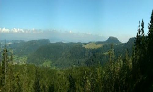 Zdjęcie POLSKA / woj. dolnośląskie / Góry Stołowe / Widok z Błędnych Skał - Góry Stołowe