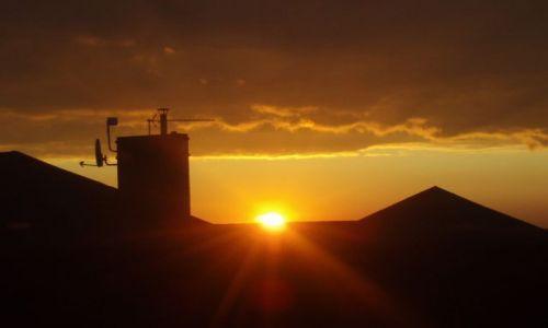 Zdjęcie POLSKA / Suwalszczyzna / Suwałki / zachód Słońca