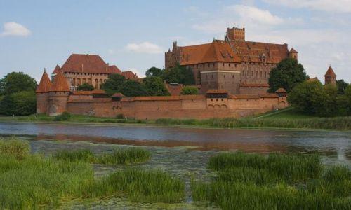 Zdjęcie POLSKA / - / Malbork / Zamek w Malborku
