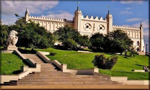 POLSKA / lubelszczyzna / Lublin , Zamek Lubelski / Pocztówka z Lublina