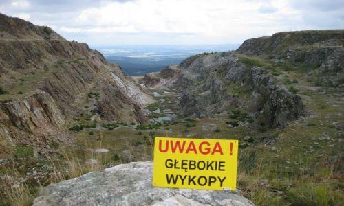 Zdjecie POLSKA / Góry Izerskie / Kopalnia kwarcu ,, Stanisław ,, / GÓRY IZERSKIE - KOPALNIA KWARCU ,,STANISŁAW,,