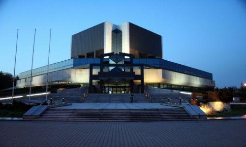 Zdjęcie POLSKA / Górny Śląsk / Katowice / Biblioteka Ślaska by night
