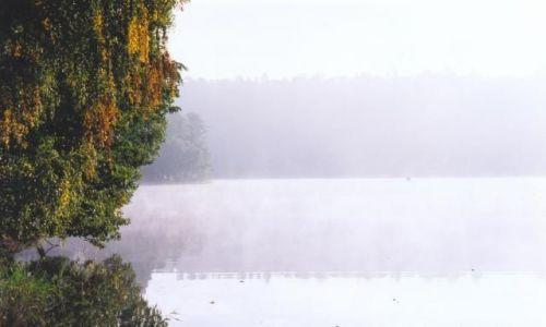 Zdjecie POLSKA / Mazury / Jezioro Nidzkie / Poranna mgła