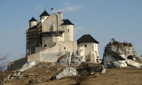 Zdjecie POLSKA / Jura / Bobolice / pamietacie ruiny?