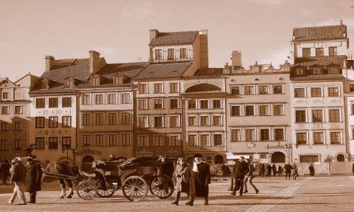 Zdjęcie POLSKA / Warszawa / Stare Miasto / Warszawa w stylu retro