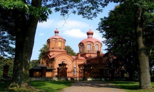 Zdjęcie POLSKA / Puszcza Białowieska / Białowieża / cerkiew św. Mikołaja w Białowieży
