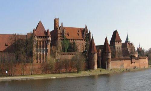 Zdjęcie POLSKA / Pomorze / Malbork / Zamek w Malborku