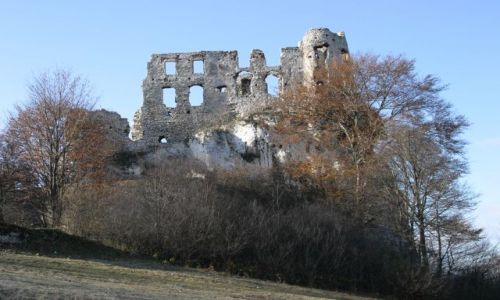 Zdjecie POLSKA / Jura Krakowsko-Częstochowska / Bobolice / Ruiny Zamku Bobolice
