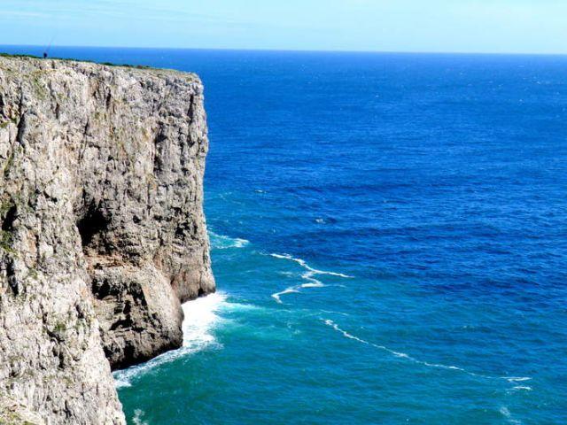 Zdjęcia: Brzeg oceanu w  poblizu Sagres, Zachodnie Algarve, Sagres, PORTUGALIA