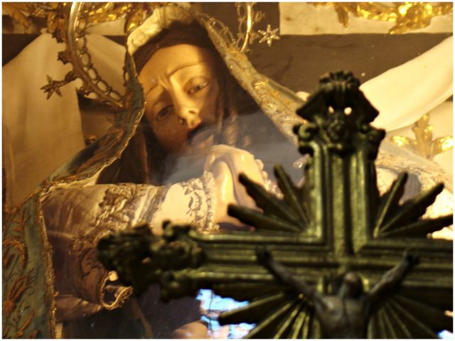 Zdjęcia: Gdzieś w centrum, Porto, Patrzy Matka Boleściwa, PORTUGALIA