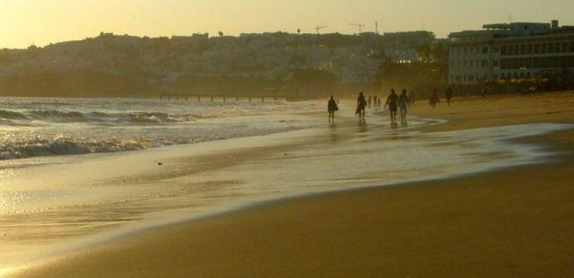 Zdjęcia: albuferia, fisherman beach, PORTUGALIA