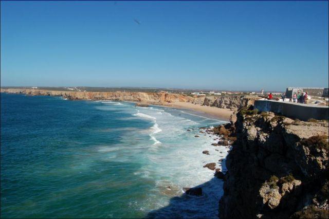 Zdjęcia: Sagres, Algarve, Ogolny widoczek na wybrzeze, PORTUGALIA