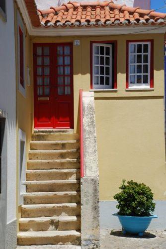 Zdjęcia: Ericeira, schodkami , PORTUGALIA