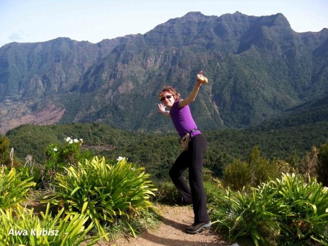 Zdjęcia: Przełęcz we wnętrzu wyspy, Wyspa Madera, Przełęcz, z której widać oba końce Madery, PORTUGALIA