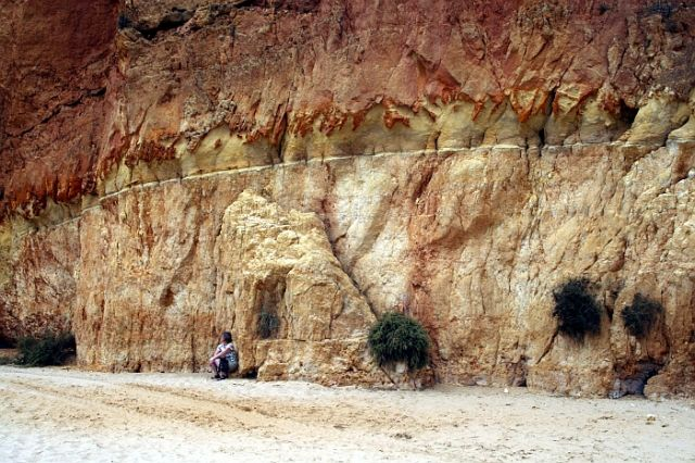 Zdjęcia: praia de rocha, algarve, przekrój, PORTUGALIA
