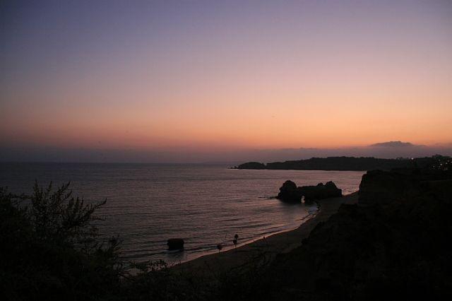 Zdjęcia: praia de rocha, algarve, zachód słónca, PORTUGALIA