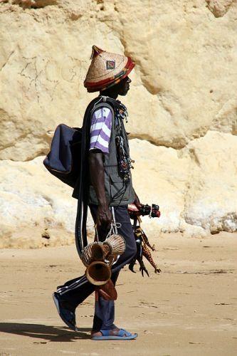 Zdjęcia: praia de rocha, algarve, murzynek Bambo, PORTUGALIA