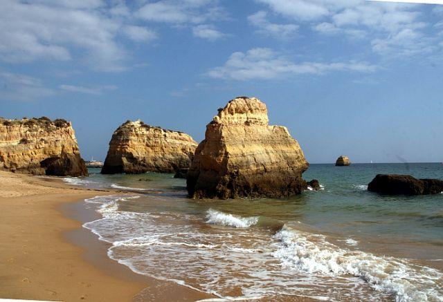 Zdjęcia: praia de rocha, algarve, inne skałki, PORTUGALIA
