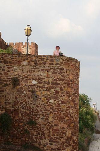 Zdjęcia: Silves, algarve, mury obronne, PORTUGALIA