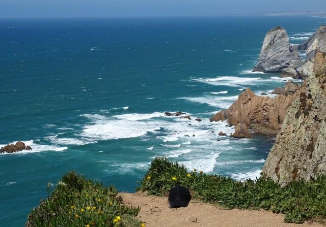 Zdjęcia: Cabo da Roca, Park Narodowy Sintra-Cascais, (z)wiało!  ;-), PORTUGALIA