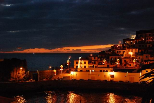 Zdj�cia: Camara de Lobos , Madera, Camara de Lobos - sun set, PORTUGALIA