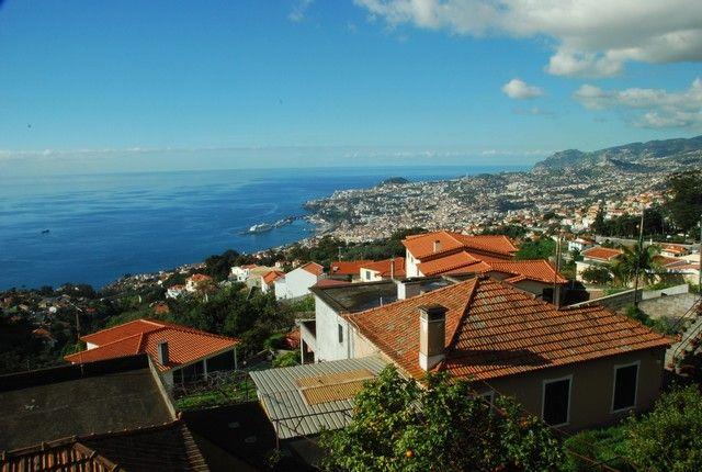 Zdj�cia: Funczal , Madera, Funczal - okolice ogrodu botanicznego, PORTUGALIA