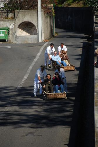 Zdjęcia: Monte, Madera, Monte zjazd saneczkarzy, PORTUGALIA