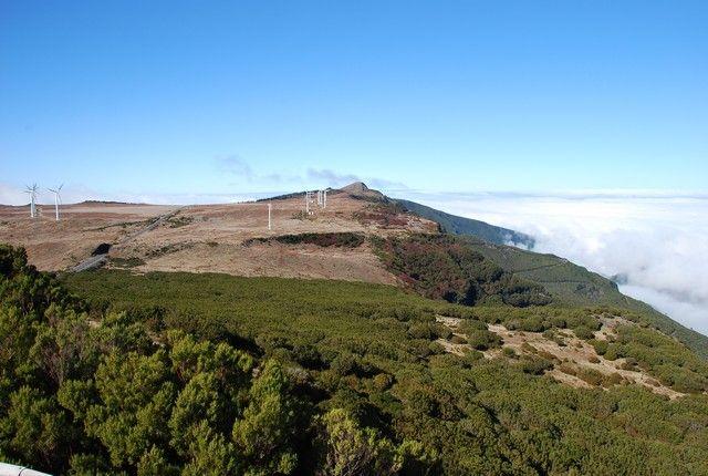 Zdjęcia: Pico Areeiro, Madera, widok na Paul da Serra, PORTUGALIA