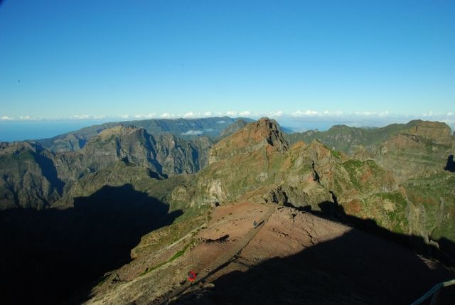 Zdjęcia: Pico do Arieiro, Madera, widok z Pico do Arieiro2, PORTUGALIA