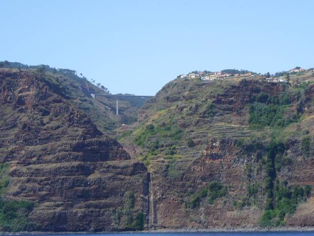 Zdj�cia: okolice Funchal, Madera, Madera - po�udniowe urwisko, PORTUGALIA