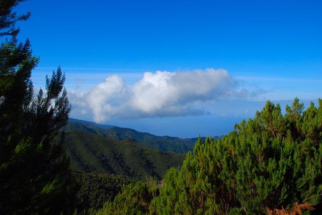 Zdj�cia: Pico Ruivo, Madera, Zejscie z Pico Ruivo, PORTUGALIA