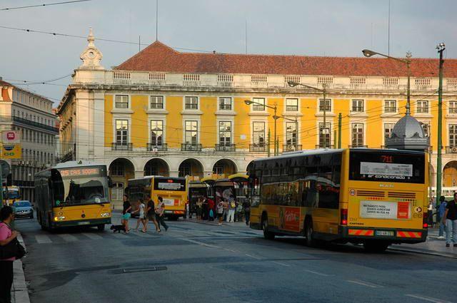 Zdj�cia: Lizbona, Plac z epoki kolonialnej, PORTUGALIA