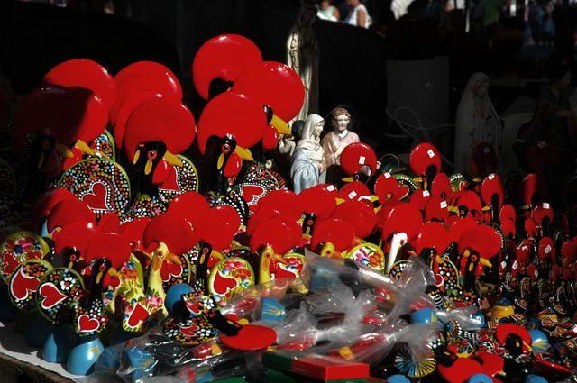 Zdjęcia: Barcelos, Słynny kogut z Barcelos, PORTUGALIA