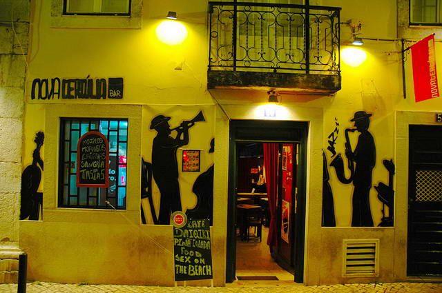Zdjęcia: Lizbona, Restauracja na Bairro Alto, PORTUGALIA