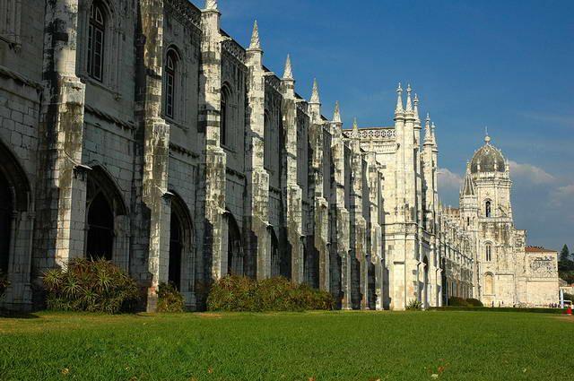 Zdjęcia: Lizbona, Mosteiro dos Jeronimos, PORTUGALIA