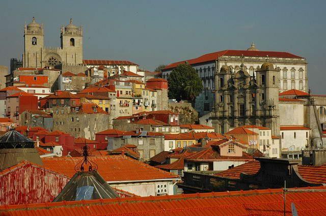 Zdj�cia: Porto, Panorama Porto, PORTUGALIA