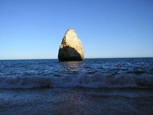 Zdj�cia: okolice Albufeira, Algarve, samotna, PORTUGALIA