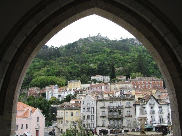 Zdjęcia: Sintra, panorama, PORTUGALIA
