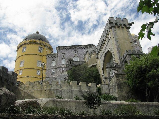 Zdjęcia: Sintra, pałac Pena1, PORTUGALIA